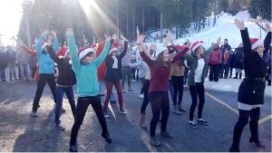 Flash-mob Danseuses FPR le 14/12/2013