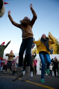 Flashmob danseuses FPR 14/12/2013